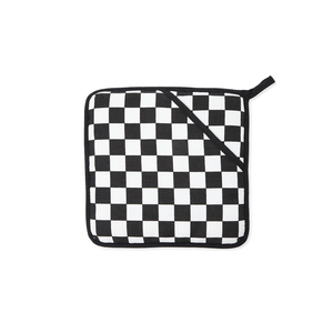 Medium checkmate teflon coated pot holder