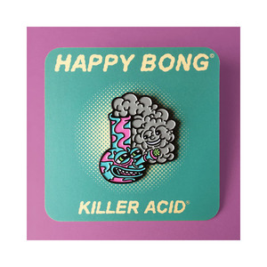 Medium etsy happy   sad bong pins