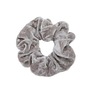 Medium urban crushed velvet scrunchie hair band