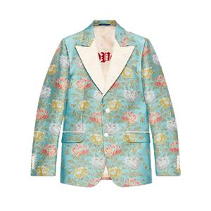 Medium 478453 z415f 4865 001 100 0000 light heritage floral tapestry jacquard jacket