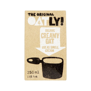 Medium oatly healthy organic oat cream alternative 250ml