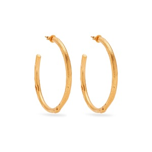 Medium alighieri no lie gold plated earrings