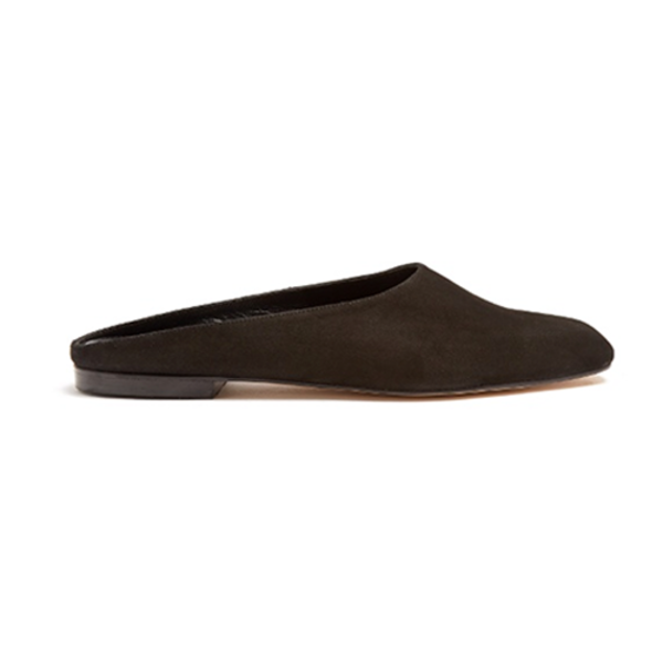Maryam backless suede loafers Maryam Nassir Zadeh