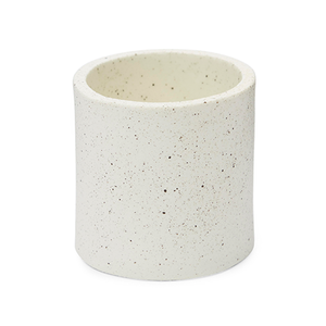 Medium ella hookway speckled plant pot