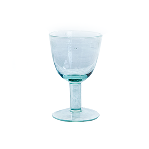 Medium ceraudo flat based wine glasses