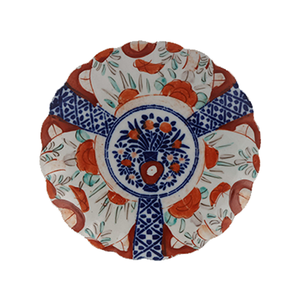 Medium ceraudo six mised imari plates