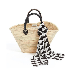 Medium karlmar zigzag print basket