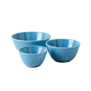 Medium food52 x mosser chelsea glass 3 piece mixing bowl set