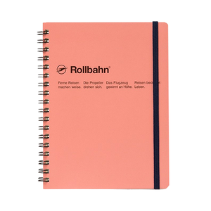 Medium delfonics rollbahn spiral notebook large size 5.5 x7