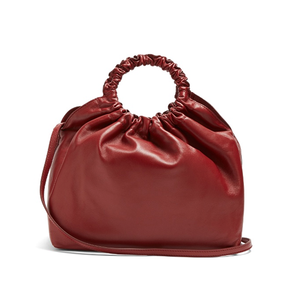 Medium the row double circle medium leather bag