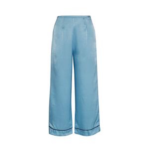 Medium staud pietro cropped satin wide leg pants